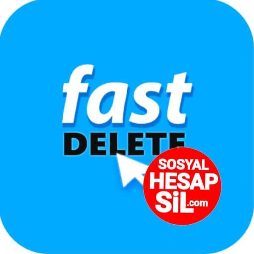 Fast Delete App - Hızlı Sosyal Hesap Silici